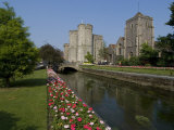 Westgate and Westgate Gardens  Canterbury  Kent  England  United Kingdom  Europe