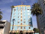 Art Deco  Georgian Hotel  Ocean Avenue  Santa Monica  Los Angeles
