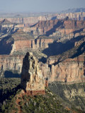 Mount Hayden from Point Imperial  Grand Canyon National Park  Arizona