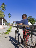 Young Boy on Ibo Island  Part of the Quirimbas Archipelago  Mozambique
