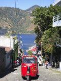 Auto Rickshaw  San Pedro  San Pedro La Laguna  Lake Atitlan  Guatemala  Central America