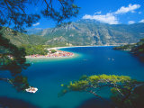 The Blue Lagoon  Bay of Oludeniz  Olu Deniz  Near Fethiye  Anatolia  Turkey  Asia Minor  Eurasia