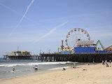 Santa Monica Pier  Santa Monica  Los Angeles  California  United States of America  North America