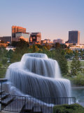 Finlay Park Fountain  Columbia  South Carolina  United States of America  North America