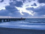 Florida  Pompano Beach  Fishing Pier  Atlantic Ocean  USA