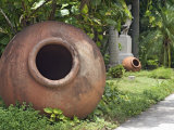 Clay Jars Called Tinajones in the Gardens of What Was Originally the Villa of Jose Gomez Mena