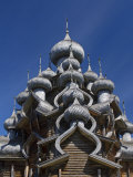 Karelia  Lake Onega  Kizhi Island  Roof of the Church of the Transfiguration  Russia