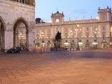 Piazza Dei Cavalli at Dusk  Piacenza  Emilia Romagna  Italy  Europe