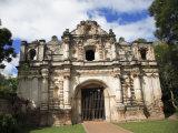 San Jose El Viejo  Chapel Facade  Colonial Ruins  Antigua  Guatemala