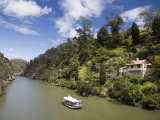 Passnger Ferry on Cateract Gorge  Launceston  Australia