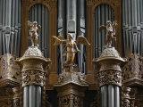 Organ  St Gatien Cathedral  Tours  Indre-Et-Loire  France  Europe