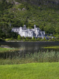 Kylemore Abbey and Lake  Connemara  County Galway  Connacht  Republic of Ireland  Europe