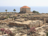 Ancient Ruins  Byblos  UNESCO World Heritage Site  Jbail  Lebanon  Middle East