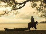 Isla De Ometepe  Lake Nicaragua  Sunset  Nicaragua