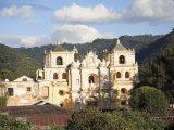 Merced Church  Antigua  UNESCO World Heritage Site  Guatemala  Central America