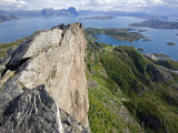 Nordland  Helgeland  Rodoy Island  View of the Surrounding Islands from the 400 Metre High Peak of