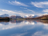 Reflections in Loch Leven  Glencoe  Scotland  UK