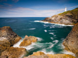 England  Cornwall  Trevose Head Lighthouse  UK