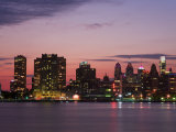 Philadelphia Skyline and Delaware River  Philadelphia  Pennsylvania  United States of America