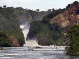 Murchison Falls  Murchison National Park  Uganda  East Africa  Africa