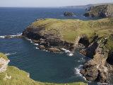 North Coast at Tintagel  Cornwall  England  United Kingdom  Europe