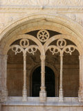 Jeronimos Monastery Cloister  Lisbon  Portugal  Europe