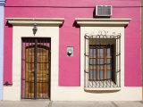 Colonial Architecture in Old Town District  Mazatlan  Sinaloa State  Mexico  North America