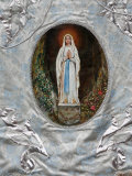 Pilgrimage Banner  Lourdes  Hautes Pyrenees  France  Europe