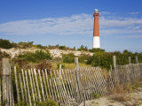 Barnegat Lighthouse in Ocean County  New Jersey  United States of America  North America