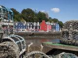 Lobster Pots in Tobermory  Mull  Inner Hebrides  Scotland  United Kingdom  Europe