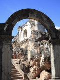 Ruins of the Church of La Recoleccion  Destroyed by Earthquake in 1700S  Antigua  Guatemala