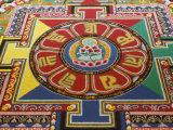 Mandala of Compassion  Paris  Ile De France  France  Europe