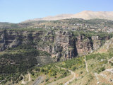 Wadi Qadisha  UNESCO World Heritage Site  Qadisha Valley  Lebanon  Middle East