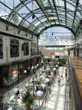 Wayfarer's Victorian Shopping Arcade  Southport  Merseyside  England  United Kingdom  Europe