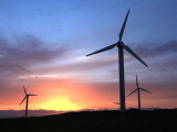 Wind Turbines on Bodmin Moor  Near Bodmin  Cornwall  England  United Kingdom  Europe