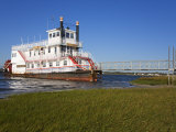 Paddle Steamer on Lakes Bay  Atlantic City  New Jersey  United States of America  North America