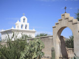 Chapel  San Xavier Del Bac Mission  Tucson  Arizona  United States of America  North America
