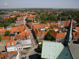 Ribe Historic Center  Ribe  Jutland  Denmark  Scandinavia  Europe