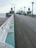 Promenade Off North Pier  Blackpool  Lancashire  England  United Kingdom  Europe