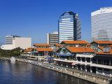 Riverfront and the Jacksonville Landing  Jacksonville  Florida