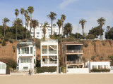 Beach Houses  Santa Monica  Promenade  Los Angeles  California  Usa