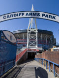 Cardiff Millennium Stadium at Cardiff Arms Park  Cardiff  Wales  United Kingdom  Europe