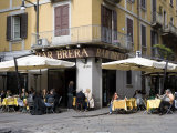 Brera District  Milan  Lombardy  Italy  Europe