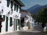 The Colonial Town of Villa De Leyva  Colombia  South America