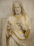 Jesus's Sacred Heart  Auxerre  Yonne  Burgundy  France  Europe