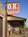 OK Corral  Tombstone  Cochise County  Arizona  United States of America  North America