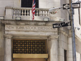The New York Stock Exchange  Wall Street  Manhattan