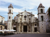 The Cathedral of Havana  Cuba  West Indies  Central America
