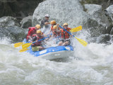 White Water Rafting  Pacuare River  Turrialba  Costa Rica  Central America
