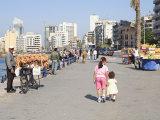 Corniche  Beirut  Lebanon  Middle East